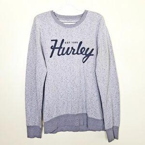 Hurley Men's Crew Neck Sweater, Size Large